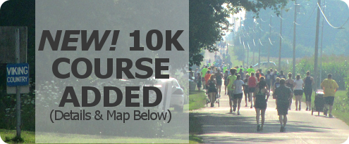 New! 10K Course added. Details and map below.